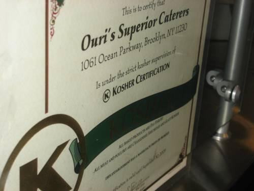 kashrut certification