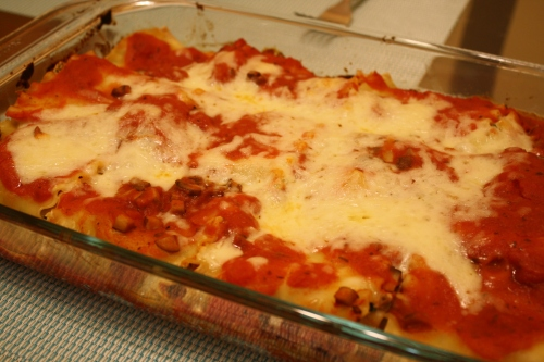 Baby Bello Lasagna Rollups The Kosher Foodies