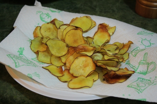 japanese sweet potato chips