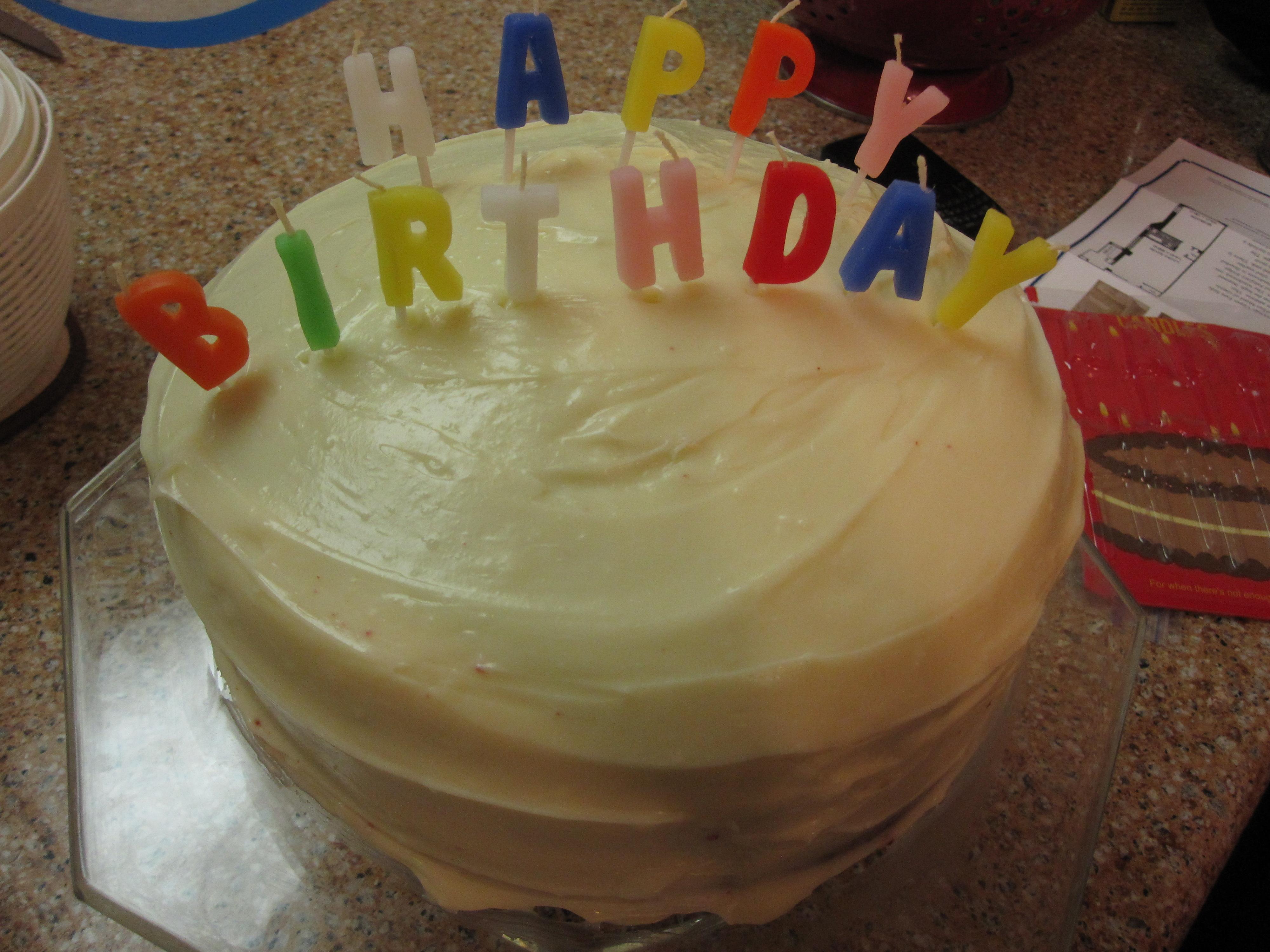 Gluten Free Birthday Cake 6 Inch Kosher Delivery Nyc
